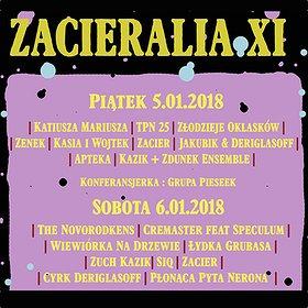 Koncerty: Zacieralia 2018