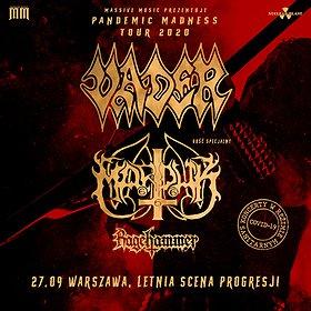 Hard Rock / Metal: Blitz MMXX: Vader, Marduk   Letnia Scena Progresji