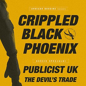 Koncerty: CRIPPLED BLACK PHOENIX / PUBLICIST UK / THE DEVIL'S TRADE
