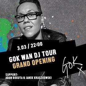 Imprezy: Gok Wan DJ Tour - Grand Opening