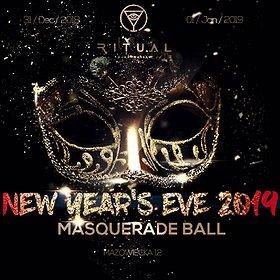 : SYLWESTER 2019 W RITUAL CLUB - MASQUERADE BALL