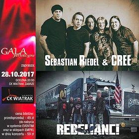 Koncerty: CREE & REBELIANCI - Niezwykłe Zaduszki Rockowe