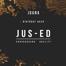 Imprezy: Joana Birthday Bash: Jus-Ed all night long