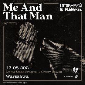 Pop / Rock: Lato w Plenerze | Me And That Man | Warszawa