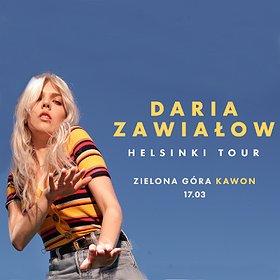 """Koncerty: Daria Zawiałow 'Helsinki Tour"""" - Zielona Góra"""