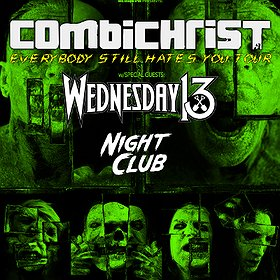 Concerts: Combichrist / Wednesday 13 - Wrocław