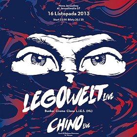Imprezy: LEGOWELT live & CHINO live