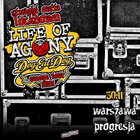 Hard Rock / Metal: Life Of Agony + Dog Eat Dog | Warszawa WYDARZENIE ODWOŁANE