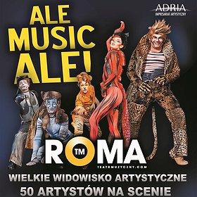 Teatry: Ale Musicale! - największe przeboje Teatru Roma: Mamma Mia, Grease, Cats i wiele innych