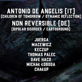 Muzyka klubowa: TFR.IMPORT #4 invites ANTONIO DE ANGELIS // NON REVERSIBLE