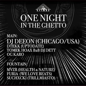 Muzyka klubowa: DJ Deeon: One Night In The Ghetto