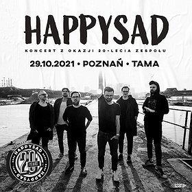 Pop / Rock: Happysad - koncert z okazji XX-lecia zespołu