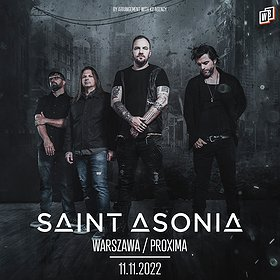 Pop / Rock: SAINT ASONIA / Warszawa