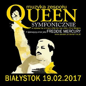 Koncerty: QUEEN SYMFONICZNIE w Białymstoku na V-lecie projektu!