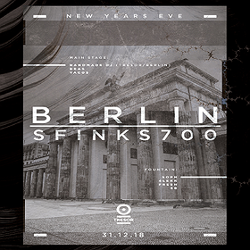 : NYE 18/19: Berlin - Sfinks700 feat. Handmade