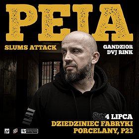 Hip Hop / Reggae: Peja/Slums Attack | P23, Dziedziniec Fabryki Porcelany | Katowice