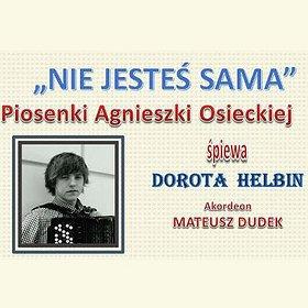Koncerty: Piosenki Agnieszki Osieckiej śpiewa Dorota Helbin