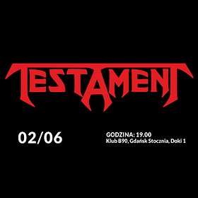 Koncerty: TESTAMENT
