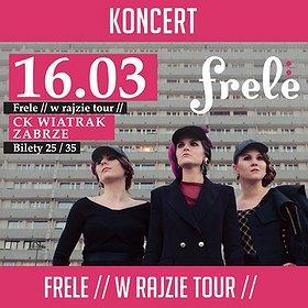 Koncerty: FRELE - Zabrze