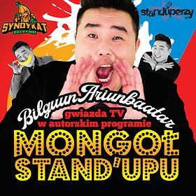 Stand-up: Bilguun Ariunbaatar: Mongoł Stand-upu | Łódź