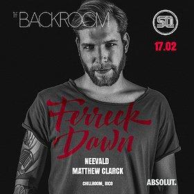 Muzyka klubowa: The Backroom! pres. Ferreck Dawn