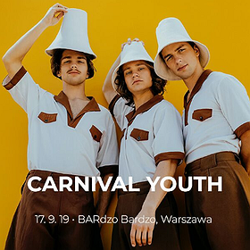 Pop / Rock: Carnival Youth - Warszawa