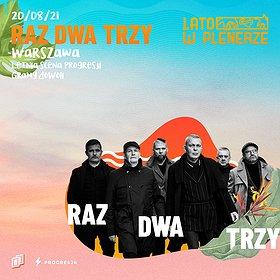 Pop / Rock: Lato w Plenerze | Raz Dwa Trzy | Warszawa WYDARZENIE ODWOŁANE