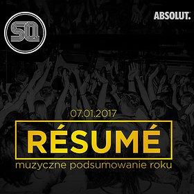 Imprezy: Resume! – muzyczne podsumowanie 2016 w SQ!