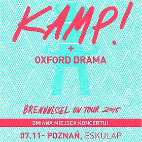Concerts: Brennnessel On Tour 2015. KAMP! + Oxford Drama
