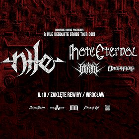 Hard Rock / Metal: Nile, Hate Eternal + supports