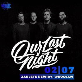 Hard Rock / Metal: Our Last Night - Wrocław