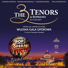 : The 3 Tenors & Soprano - POP OPERA ITALY | WROCŁAW