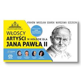 : Włoscy artyści w hołdzie dla Jana Pawła II   Wrocław