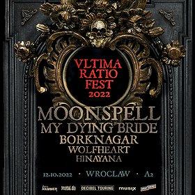 Hard Rock / Metal : ULTIMA RATIO FEST 2022: MOONSPELL + GOŚCIE
