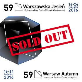 Koncerty: KARNET - 59. Międzynarodowy Festiwal Muzyki Współczesnej Warszawska Jesień