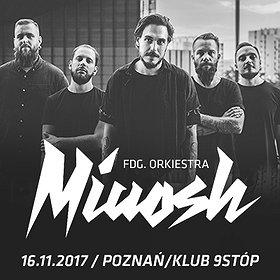 Concerts: MIUOSH x FDG. Orkiestra 16.11 // Klub 9stóp // Poznań