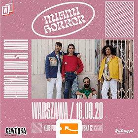 Pop / Rock: Miami Horror / Warszawa