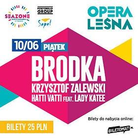 Koncerty: Brodka, Zalewski, Hatti Vatti & Lady Katee / SeaZone 2016