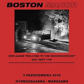 Koncerty: Boston Manor