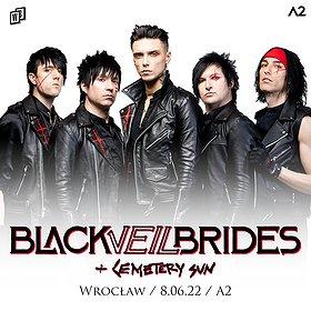 Hard Rock / Metal : Black Veil Brides | A2 | WROCŁAW