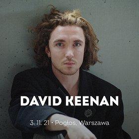 Pop / Rock: David Keenan | Warszawa | WYDARZENIE ODWOŁANE