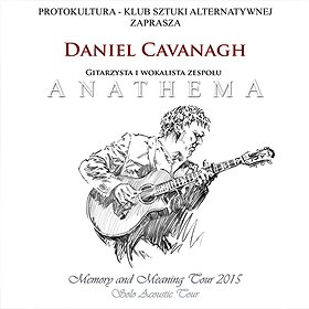 """Koncerty: Daniel Cavanagh (ANATHEMA) """"Memory and Meaning Tour"""""""