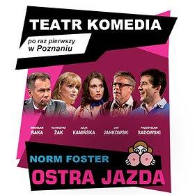 Teatry: Ostra Jazda – Teatr Komedia