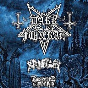 Koncerty: Dark Funeral, Krisiun - SHADOWS OVER EUROPE Tour 2016