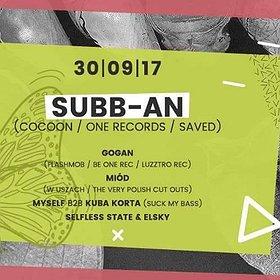Muzyka klubowa: Subb-an (Cocoon / One Rec)