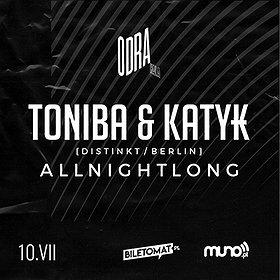 Muzyka klubowa: ToniBa & KATYK x ODRANADONOCY