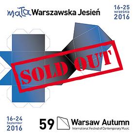 Koncerty: Festiwal Muzyki Współczesnej dla Dzieci Mała Warszawska Jesień-