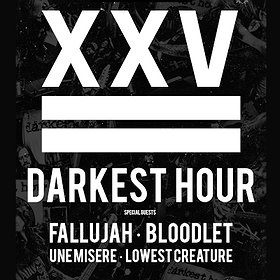 Hard Rock / Metal: Darkest Hour 25th Anniversary Tour