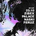 Muzyka klubowa: NOIR: Zibex / Palace / Naski / Feruz, Gdańsk