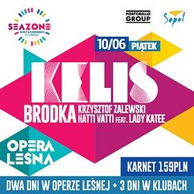 Koncerty: Kelis / Brodka / Krzysztof Zalewski / Hatti Vatti / SeaZone 2016